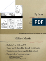 2010 12 11 Python Workshop