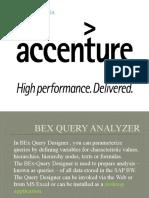 BEX Query Analayzer