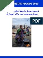 Pakistan Floods 2010 Rapid Gender Needs Assessment En