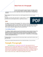 405001174-The-Basic-Parts-of-a-Paragraph-doc