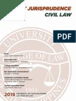 Recent Jurisprudence in Civil Law