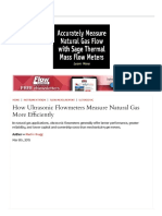 How Ultrasonic Flowmeters Measure Natupdf