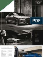 2018 Genesis G70 brochure