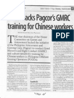 Business Mirror, Mar. 9, 2020, Solon backs Pagcor's GMRC training for Chinese workers.pdf