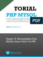 PHP&MySQL Bag. 19