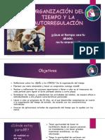 ORGANIZACIÓN DEL TIEMPO Y LA AUTORREGULACIÓN