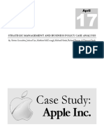 2012 Case Study Apple Inc