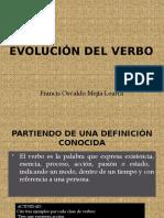 4. Evolución del verbo