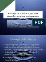 25 Citología de la infancia, periodo reproductivo y