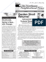 Historic Old Northeast Neighborhood News - March 2008