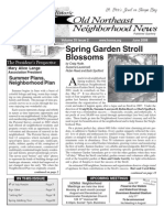 Historic Old Northeast Neighborhood News - June 2008