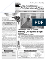 Historic Old Northeast Neighborhood News - December 2008