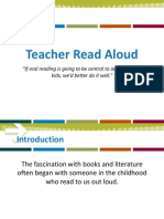 3.2 Teacher Read Aloud