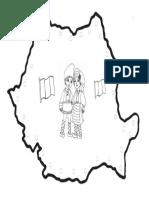 ROMÂNIA-hartă-de-colorat