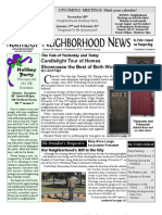 Historic Old Northeast Neighborhood News - December 2010