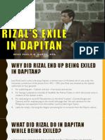 RIZAL_S EXILE IN DAPITAN