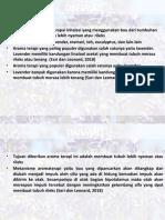 Aromaterapi lavender