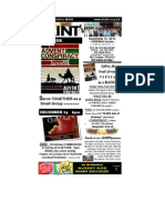December 12 2010 Newsletter One Third Version