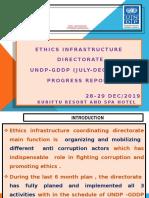 Haregot - UNDP Progress Report -Anti Corruption Commission