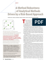 Reduced-Method Robustness Testing of Analytical Methods Driven by a Risk-Based Approach (Phil Borman et al., PharmTech, 2010).pdf