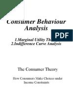 Topic III Consumer Behaviour Analysis