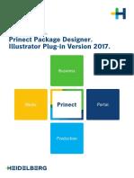 Prinect Package Designer Illustrator Connect 2017 - Installation DE