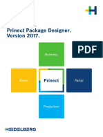 Prinect Package Designer 2017 - Installation DE