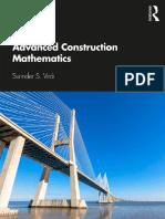 Advanced Construction Mathematics-Routledge (2019)