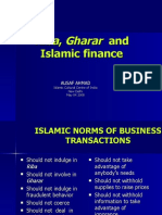 Riba Gharar Islamic Finance