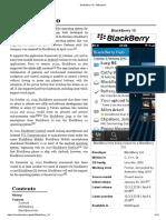 BlackBerry 10 - Wikipedia