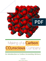 Carbon Accounting Advisory