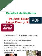 Seminario de Bioquímica por el Dr. Jesús Eduardo López Pérez y Duarte