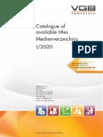 00 VGB PowerTech - Media Catalogue 2020-I en-De
