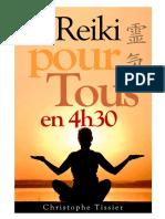 COURS DE REIKI