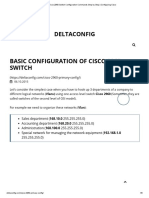 Cisco 2960 Switch Configuration Commands Step by Step _ Configuring Cisco