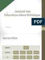 3-Aqidah Islamiyah dan Hikmahnya dalam Kehidupan.pptx