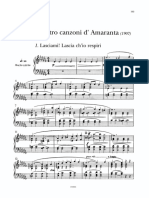 Quattro Canzoni di Amaranta