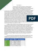 Case Analysis 1 Paper