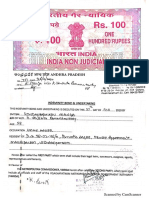 INDEMNITY bond for lrs sample