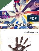 Papéis e estatutos sociais (1)