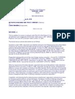 Metropolitan Bank and Trust Company v. Larry Mariñas