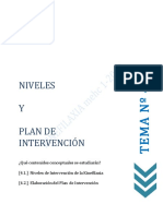 04 tema 4- niveles y  plan de intervencion