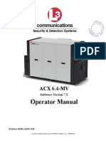 ACX6.4MV Operator Manual