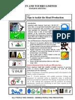 Head production - Toolbox meeting.pdf