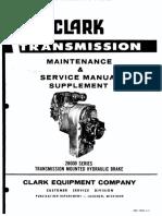 28000 transmission mounted hyd. brake