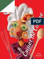 Mon Carnet de Cuisine Francine
