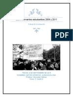 Los movimientos estudiantiles 2006 y 2011