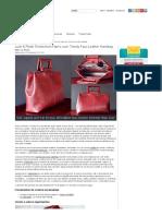 Tendências exuberantes e luxuosas de Fabric.com_ Bolsa de couro falso na moda _ Sew4Home