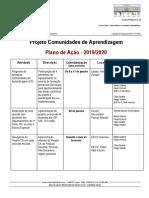 Planificação do Projeto Included - Comunidades de Aprendizagem