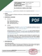 23. Work Authorization and General Work Permit